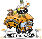 Ride the WurstWagen