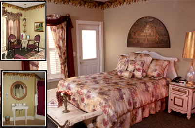 French country Vineyard Bedroom